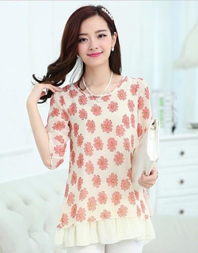 2014年流行韩版女装上衣低价清仓批发
