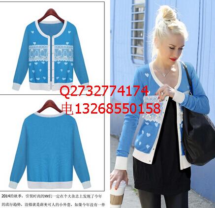 厂家直销新款秋冬装外套批发 长袖开衫外套批发 质量保证 价格优惠