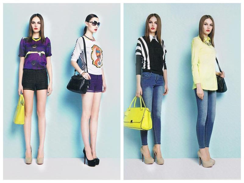 VISHINE 时 尚女装唯炫演绎东方优雅打造不一样的都市人