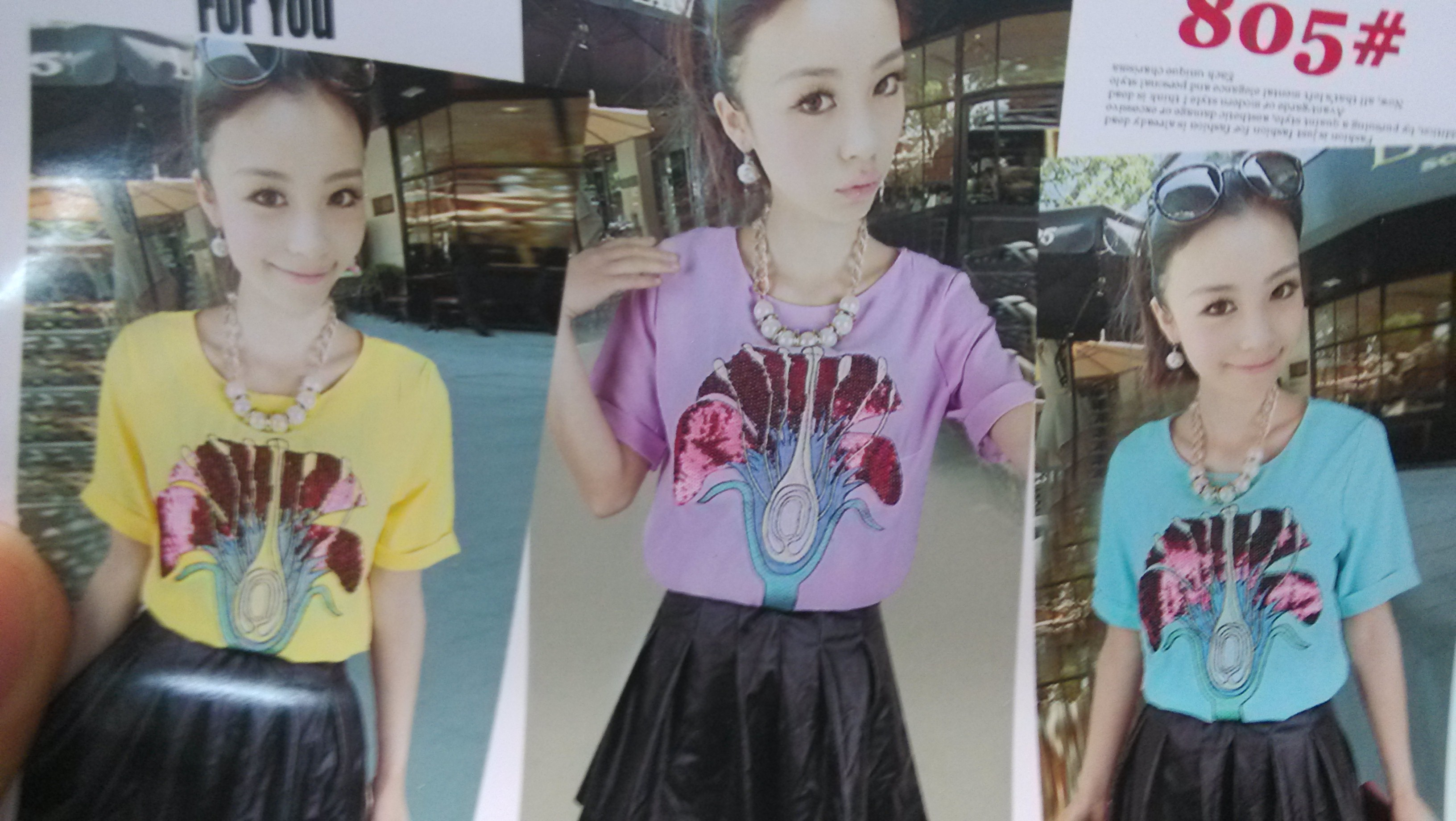 山东临沂便宜女装货源供应最便宜厂家几块钱拼接t恤批发