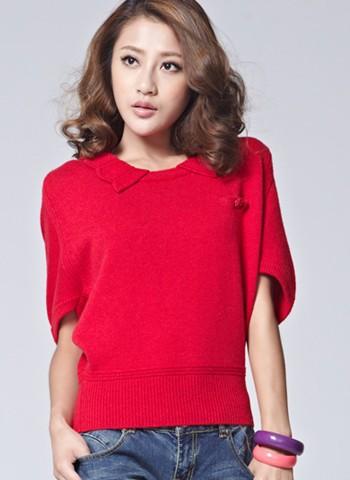 厂家批发外贸女装羊毛衫批发 时尚女式毛衣特价批发 便宜处理