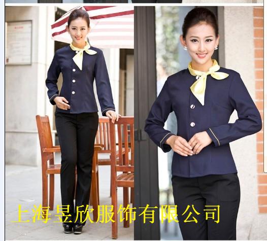 上海酒店制服定制,酒店餐厅服装定做