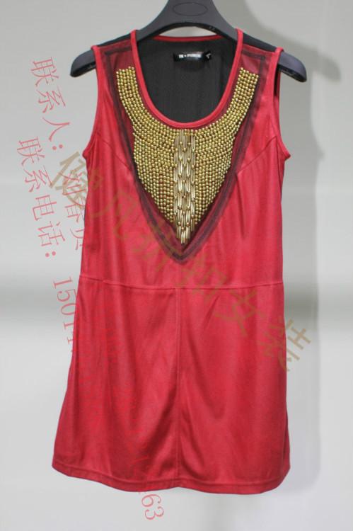 2014年款品牌女装折扣批发,库存女装批发,尾货女装批发