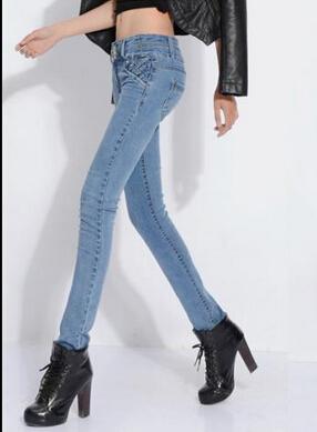2014年秋冬款时尚牛仔裤批发全面上市