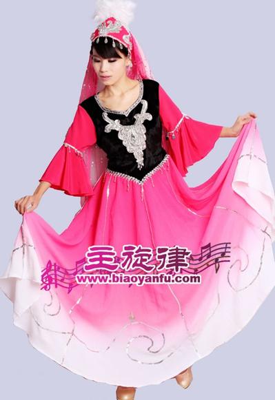 天津蒙古、藏族、新疆服裝租賃、定做   服裝生產廠家