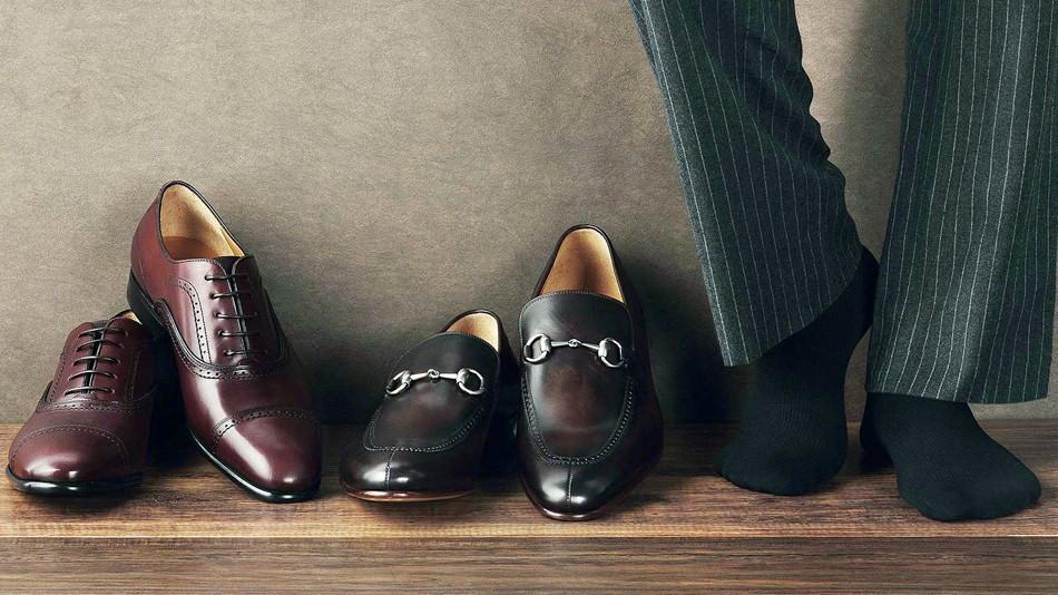 六库手工定制皮鞋:花纹羊皮和格子羊皮的保养