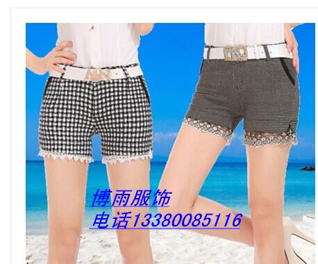 低价便宜女士花短裤