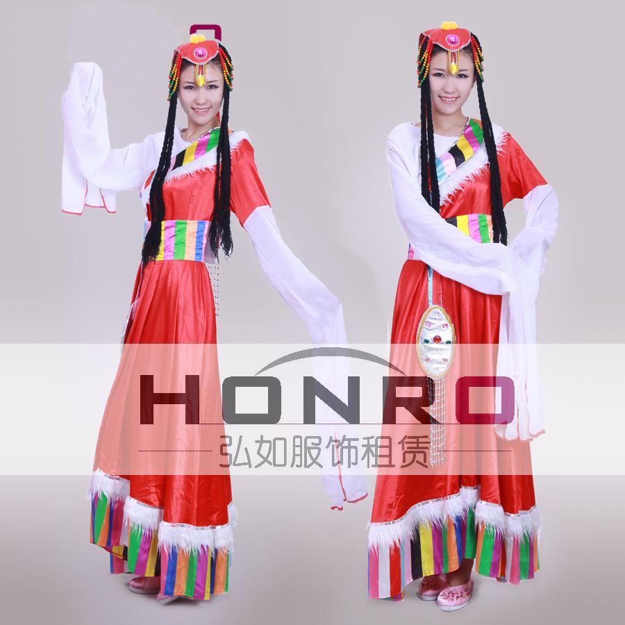 多款藏族服装租赁上海杨浦蒙古族男装维吾尔族男装租赁定做