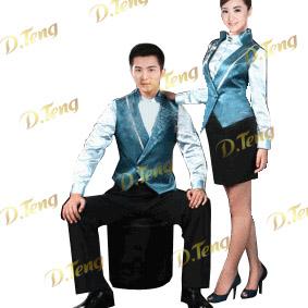 酒店商务制服设计酒店制服团购、酒店服务员制服