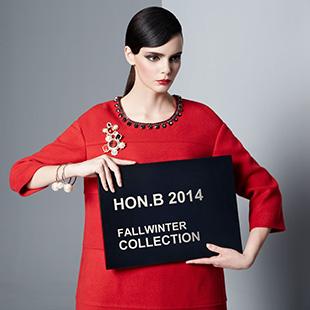 时尚品牌女装—红贝缇HON.B