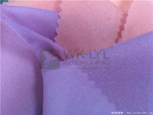 彩色时装衬布