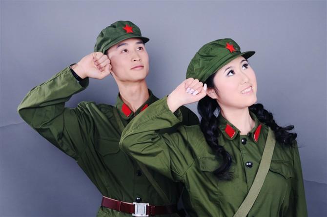 红军服装话剧表演服装租赁
