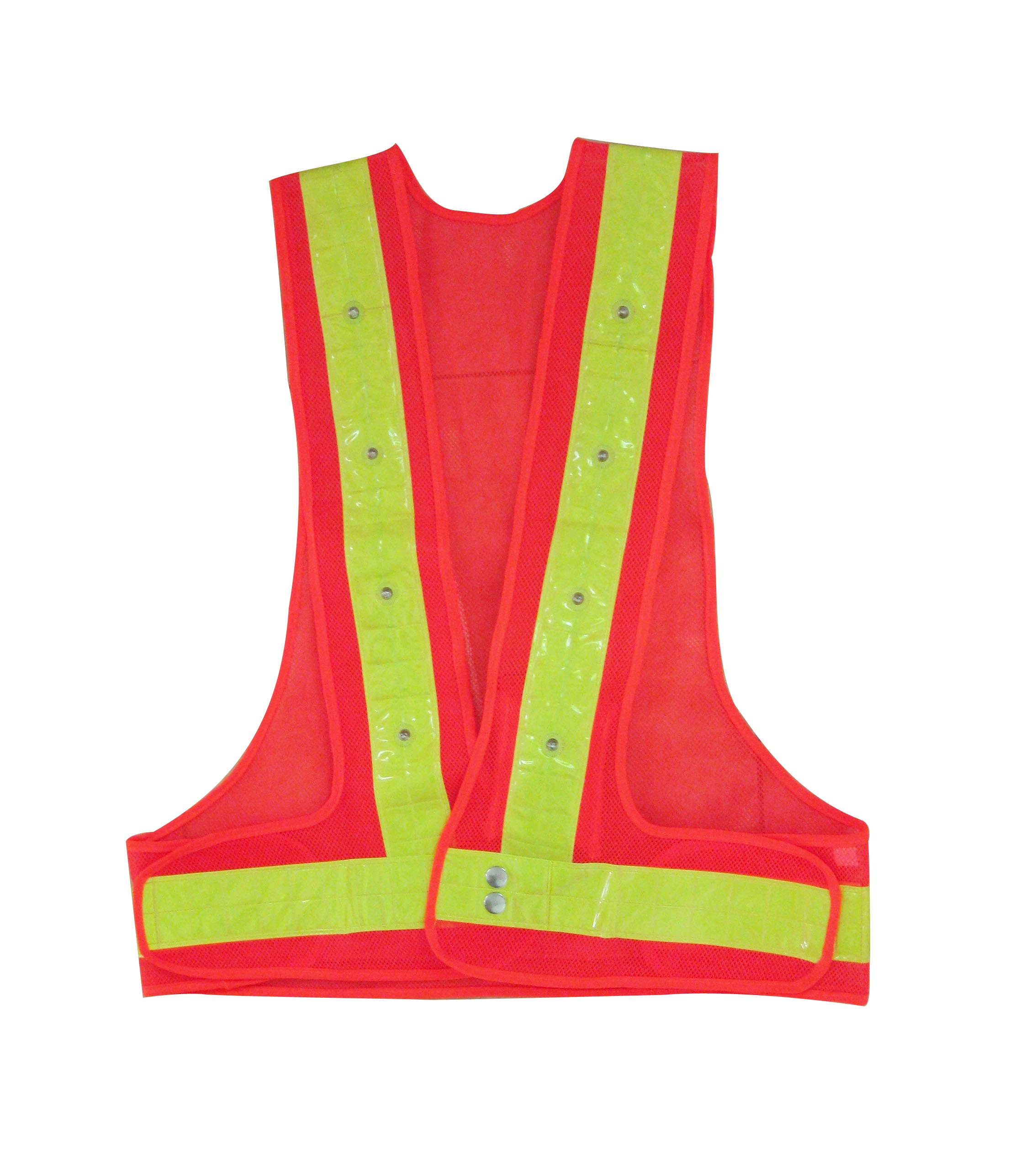 V型反光安全服