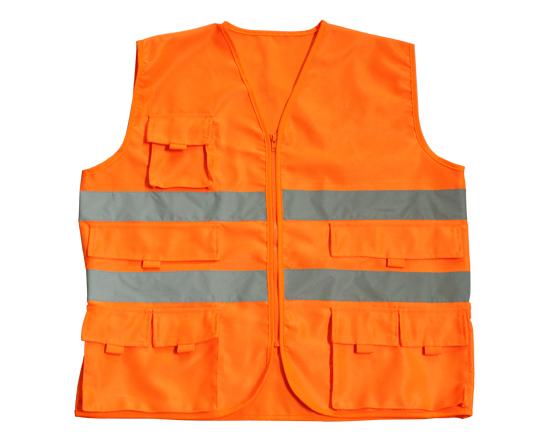 多口袋交通安全反光背心