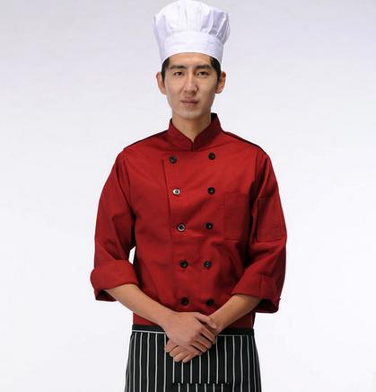 成都秋装厨师服款式选择定做批发