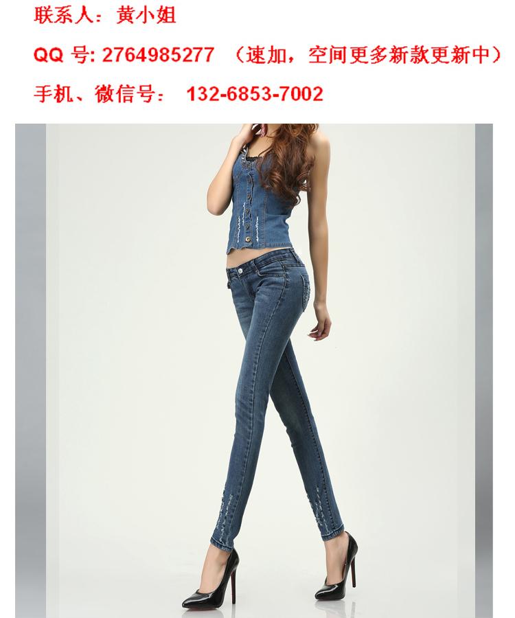 精品时尚女式铅笔裤一件代发