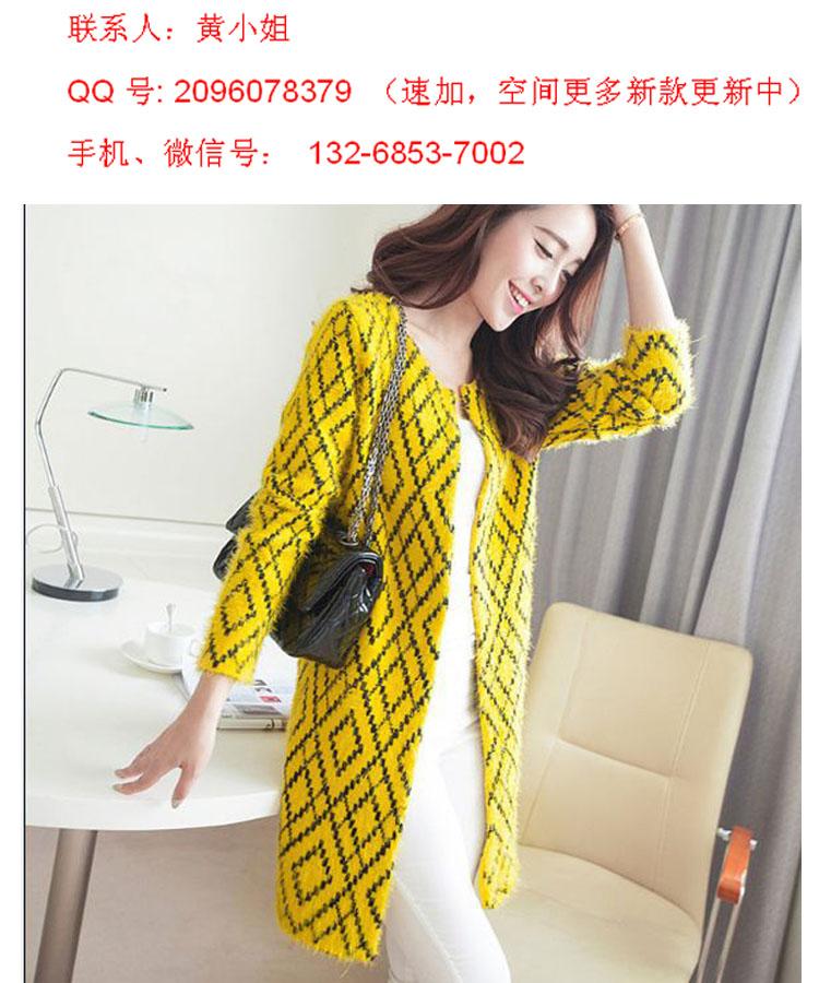 时尚潮流最新款女秋冬装外套、小西装、针织、T恤厂价批发代理