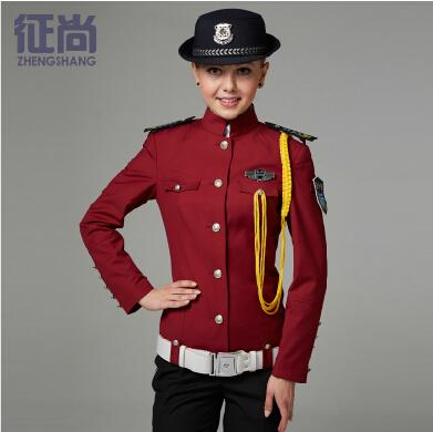征尚新款春秋季女性保安制服定制订做全套