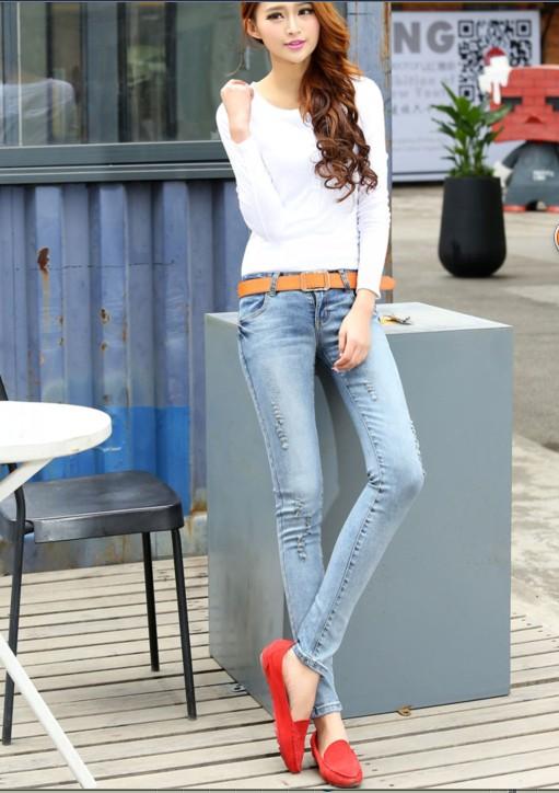 时尚女装牛仔裤厂家直销便宜批发