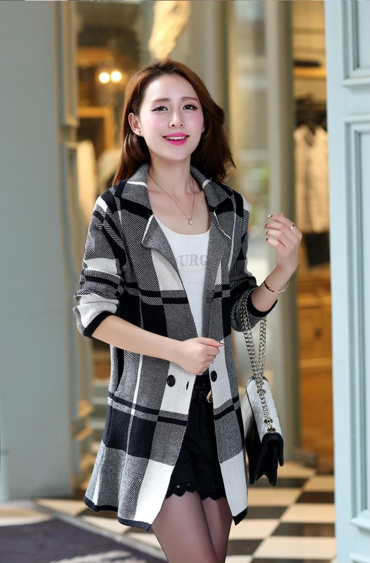 秋季最流行的实体货源女装毛衣开衫批发
