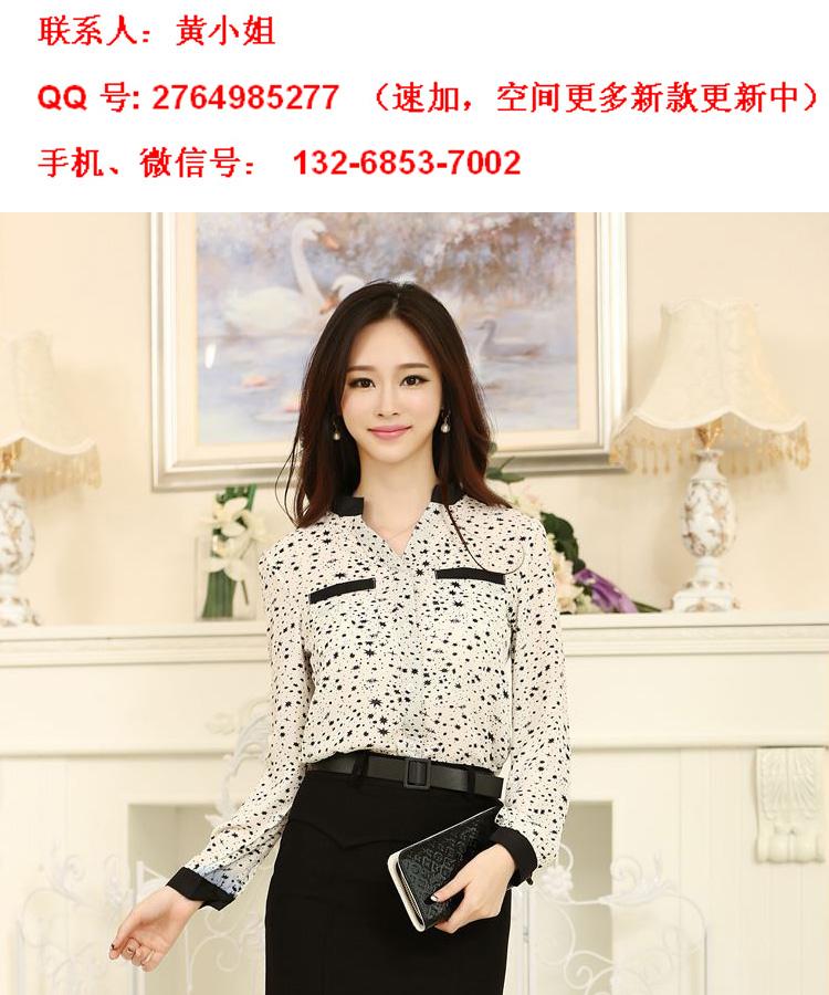2014最新款欧韩时尚女式衬衫批发