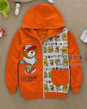 韩版时尚儿童休闲童装外套批发