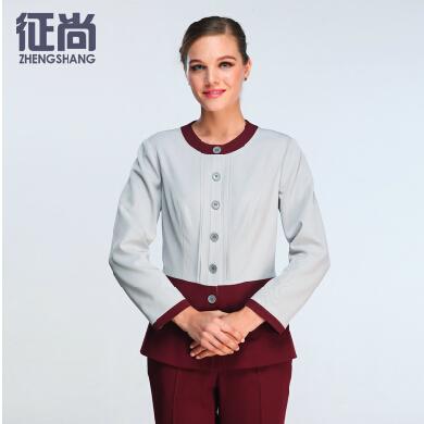 北京征尚秋季新款酒店客房保洁服装定制定做