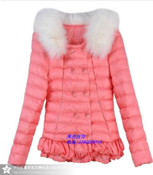 十三行低价女式棉衣外套批发