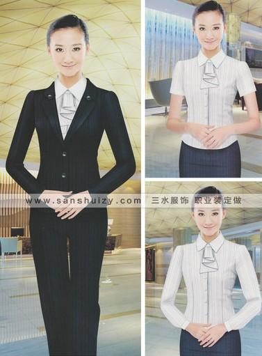 郑州女性职业装套装定做
