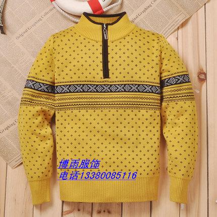 便宜促销工厂低价儿童杂款毛衣一手货源批发