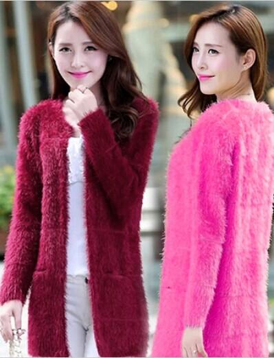 秋季最流行气质中高档韩版女装毛衣外套开衫批发