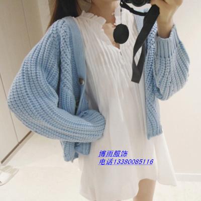 低价针织衫女装毛线衣清货广州毛衣批发