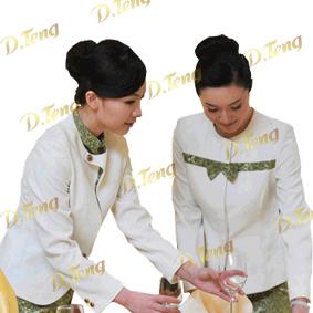 上海秋季酒店服装定做