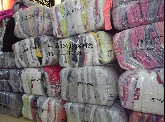 北京外贸原单品牌服装尾货大库房批发