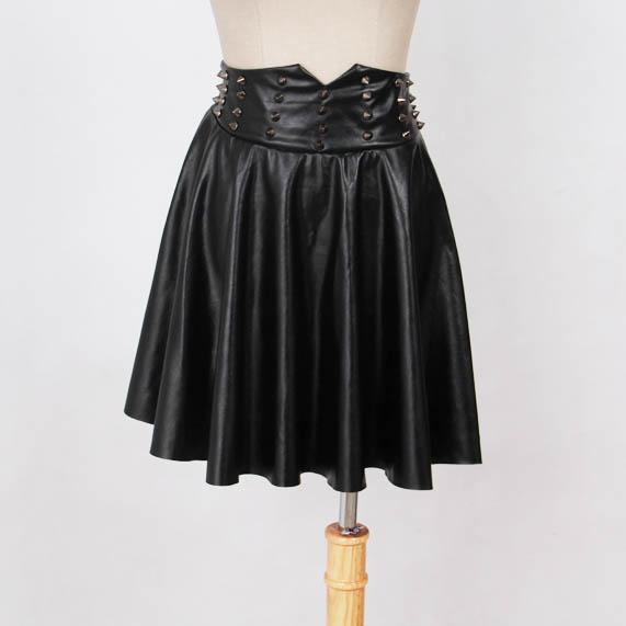2014秋季新款韩国代购时尚大气大圆摆短裙批发