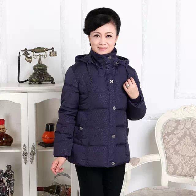 十三行低价加厚中老年女装棉衣批发