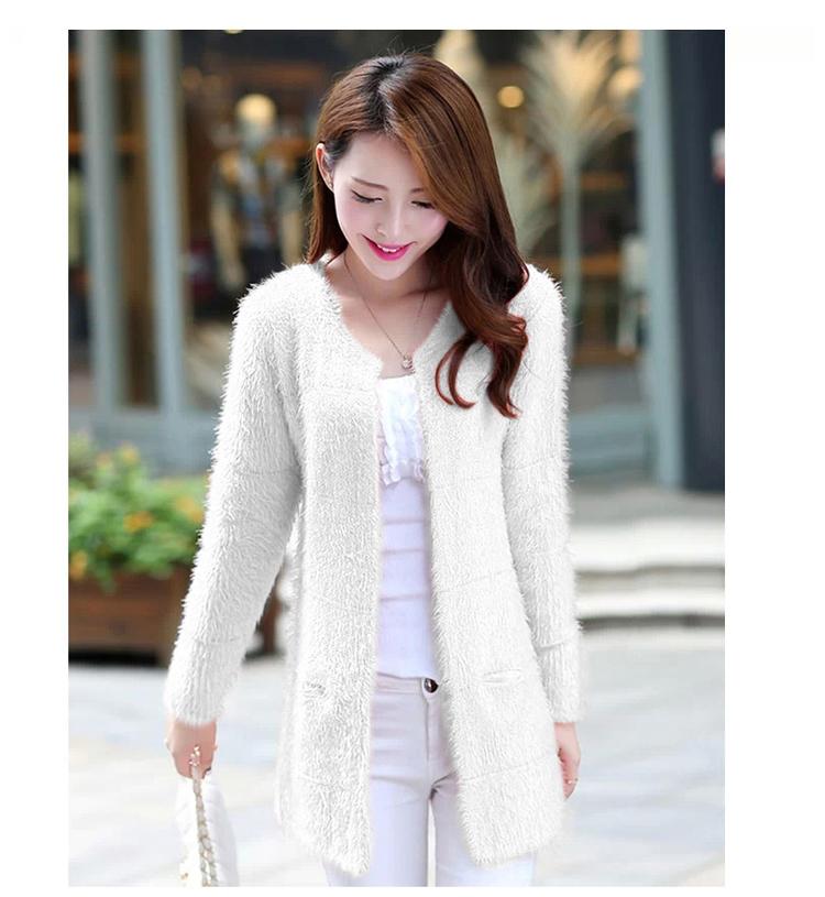 品牌女装日韩系长袖针织外套打底衫工厂直批
