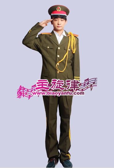 天津汉沽军队制服演出服出租定做