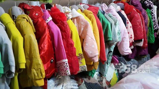 便宜童装、男女装秋冬装外贸尾货服装清仓