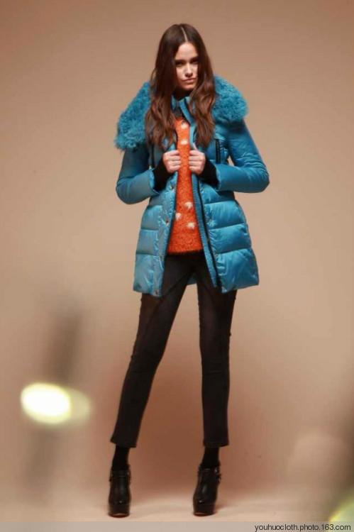 14年新款时尚年代冬装品牌女装折扣批发