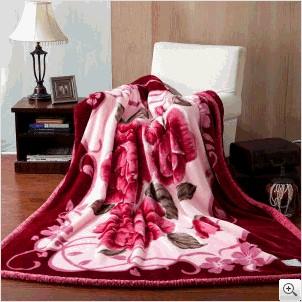 专业的拉舍尔毛毯供应