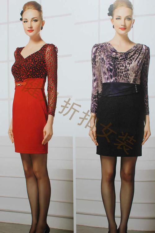 一手库存低折扣高品质女装连衣裙货源PIFA