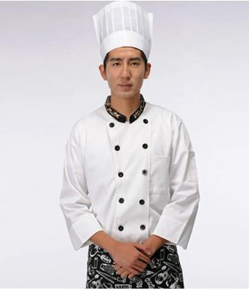 成都温江酒店秋季厨师服定做批发