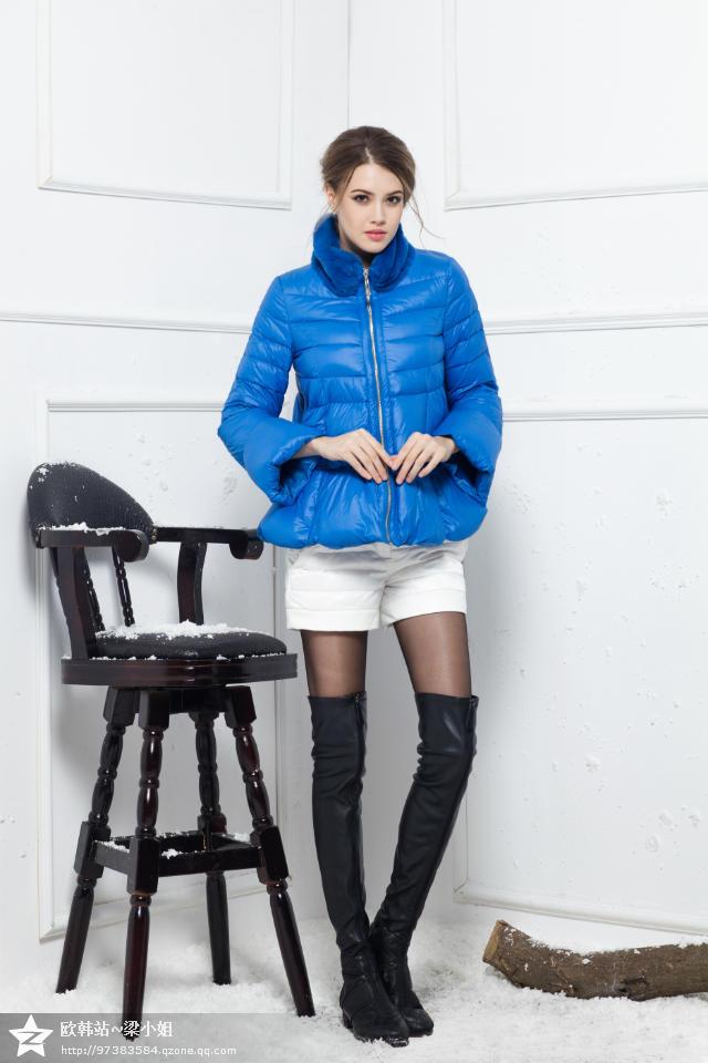 2014年新款冬装羽绒服批发