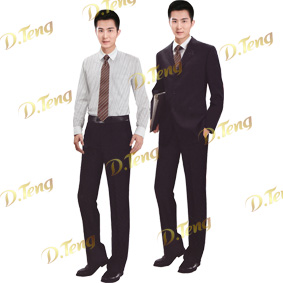 丹腾服饰专业设计生产酒店服装定做批发