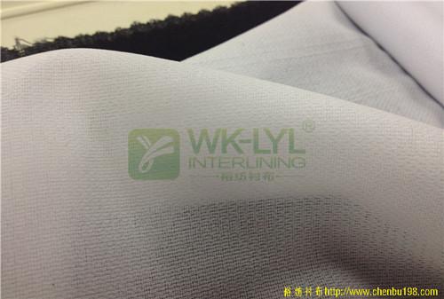 75D双点衬布厚型西装用衬供应批发