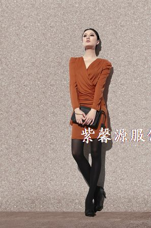 折扣品牌女装紫馨源服饰走份批发