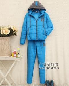 韩版冬装大衣潮流女士外套棉服批发