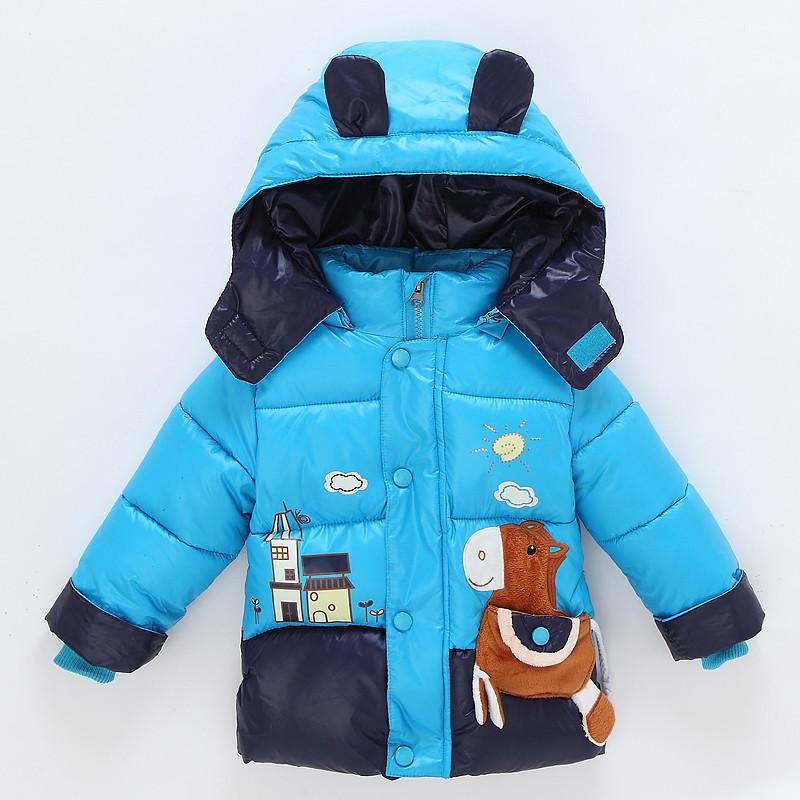 新款童装冬季棉衣批发