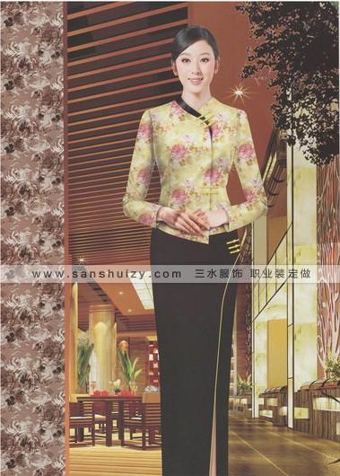郑州三水厂家酒店工作服质量值得信赖诚邀合作